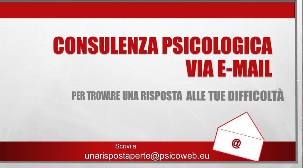Consulenza Psicologica via E-mail 1